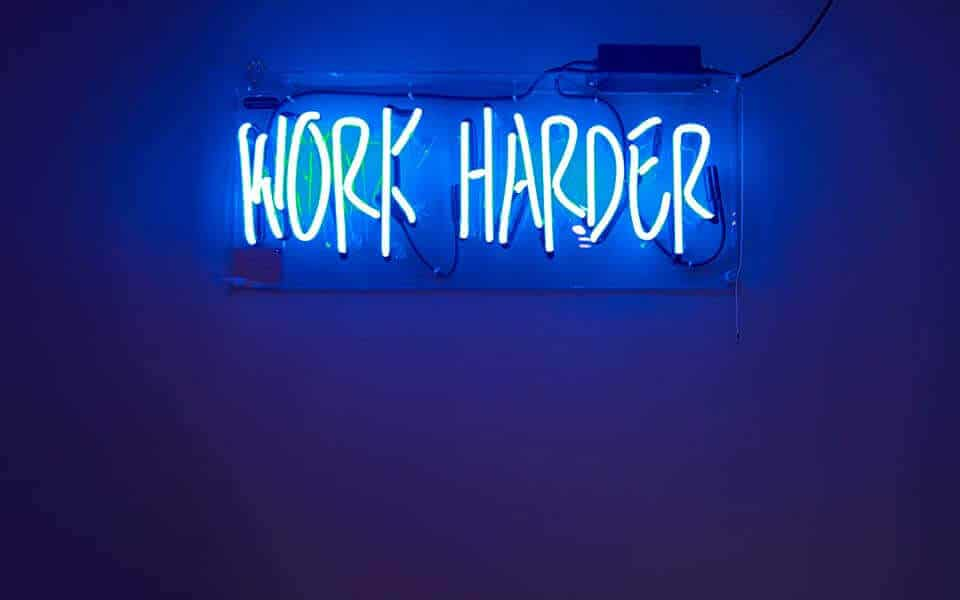 sindrome dell'impostore - work harder